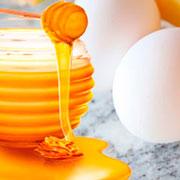Яйца, мед и корица
