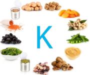 Продукты с витамином К