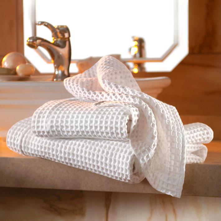 Вафельное полотенце