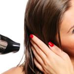 Как правильно высушить волосы феном (пошаговая инструкция)
