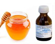 Мед и глицерин