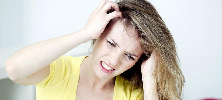Зуд кожи при росте волос