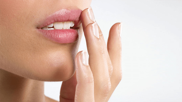 Массаж губ