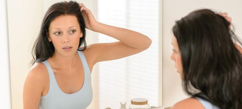 Увлажнение кожи головы