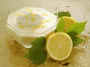 Сливки и лимон