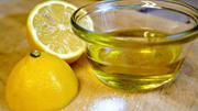Лимон и масло оливковое