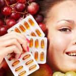 Витамины от сухости кожи