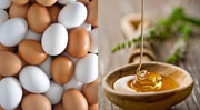 Яйцо и мед