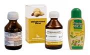 Миндальное и репейное масло