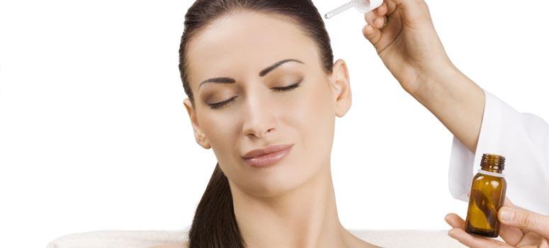Масло касторки для волос
