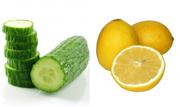 Огурец и лимон