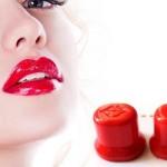 Увеличение губ с помощью колпачка