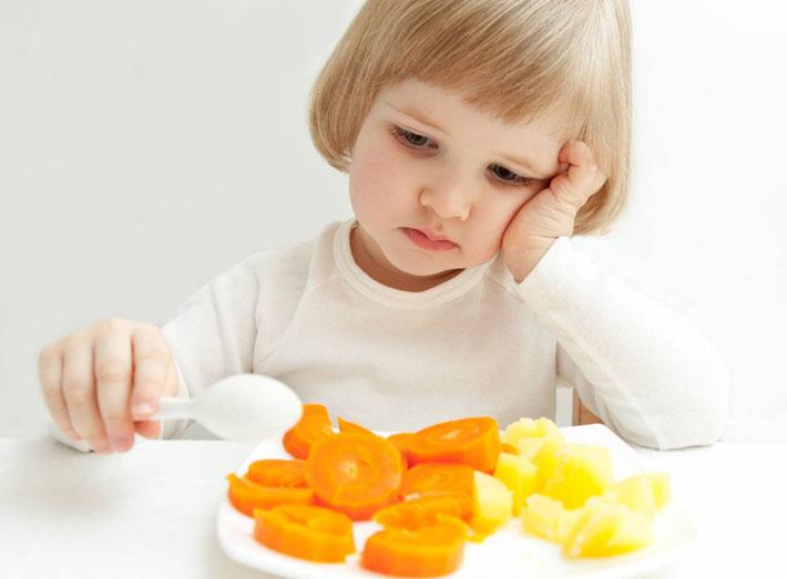 Нет аппетита у ребенка