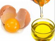 Масло и желток яйца