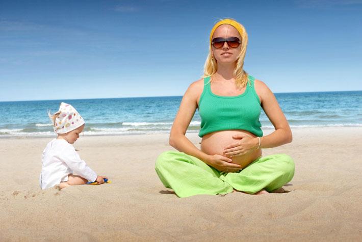 Загар при беременности