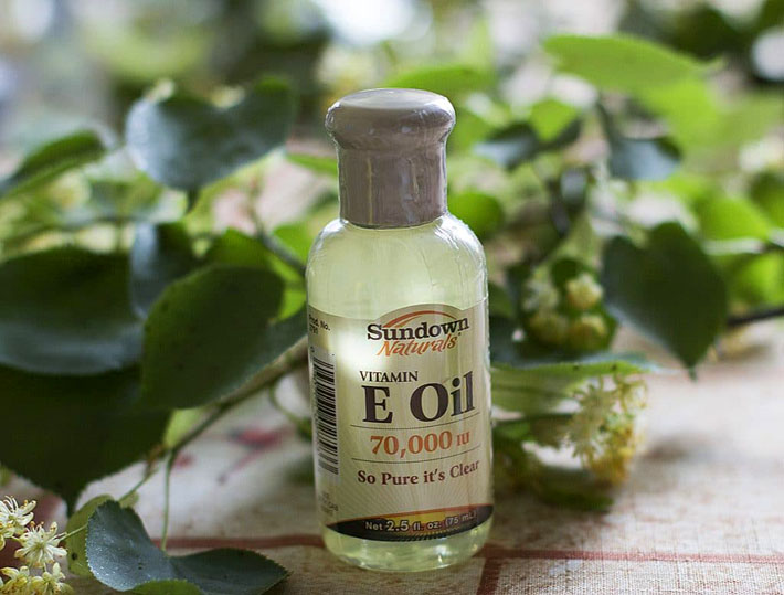 Витамин E в жидком виде