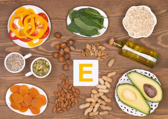 Витамин E в продуктах