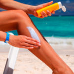 Крема и другие средства после загара на солнце