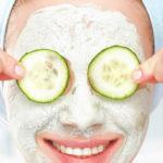 Огуречные маски для лица от морщин
