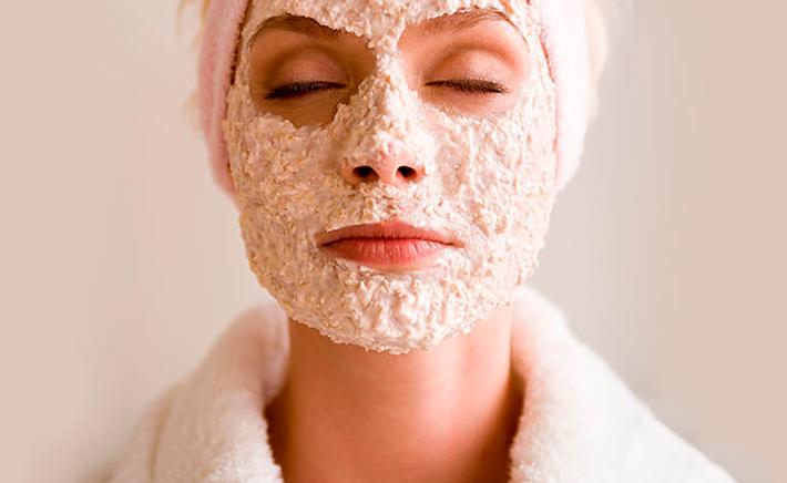 Маски от морщин с овсянки для сухой кожи лица
